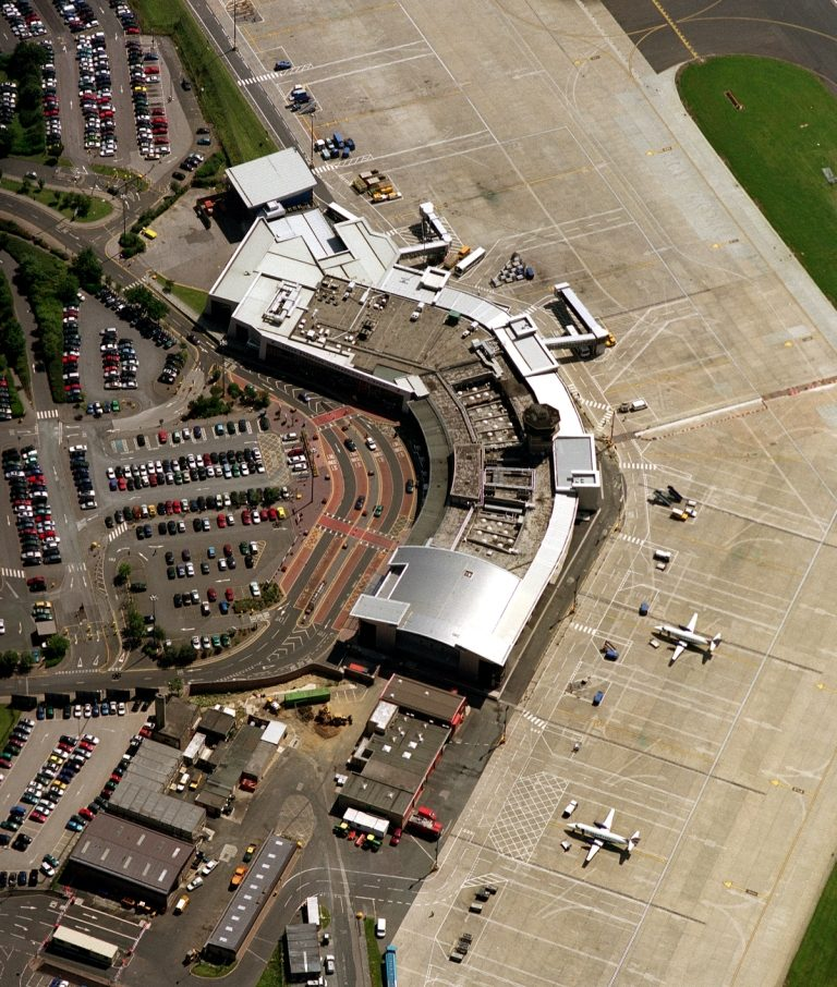 Aerial, Leeds Bradford International Airport