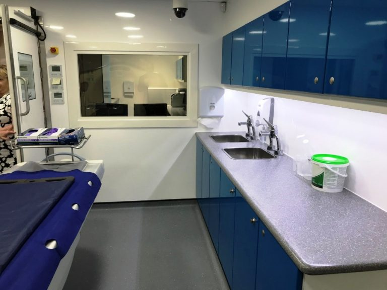 Relocatable Digital Autopsy Facility, Preston